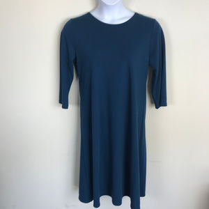 Susan Graver Soft and Stretchy Long Sleeved Dress